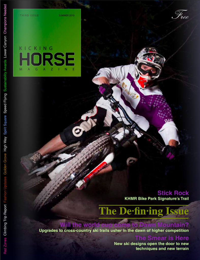 Kicking Horse Magazine Cover