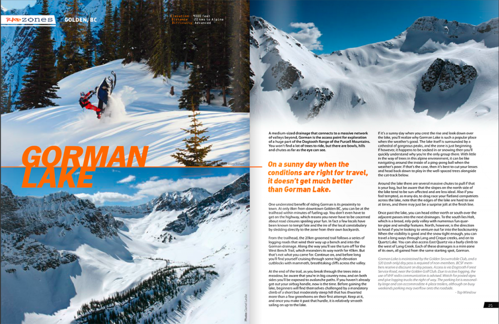 Mountain Sledder Rad Zones Article