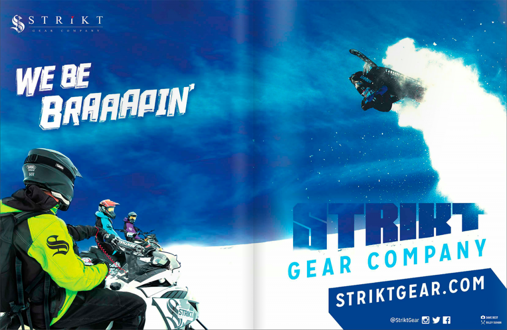 Strikt Gear Company Ad