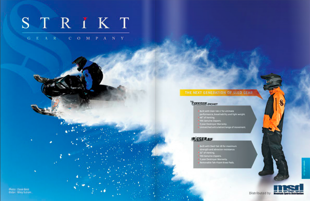 Strikt Gear Co Ad